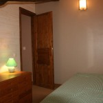 Chambre a l'etage 2 lits simple